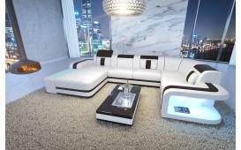 Designer Sofa SPACE XL mit LED Beleuchtung