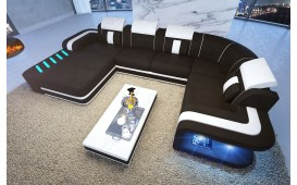 Designer Sofa SPACE XL mit LED Beleuchtung