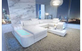 Canapé Design SPACE XL avec éclairage LED