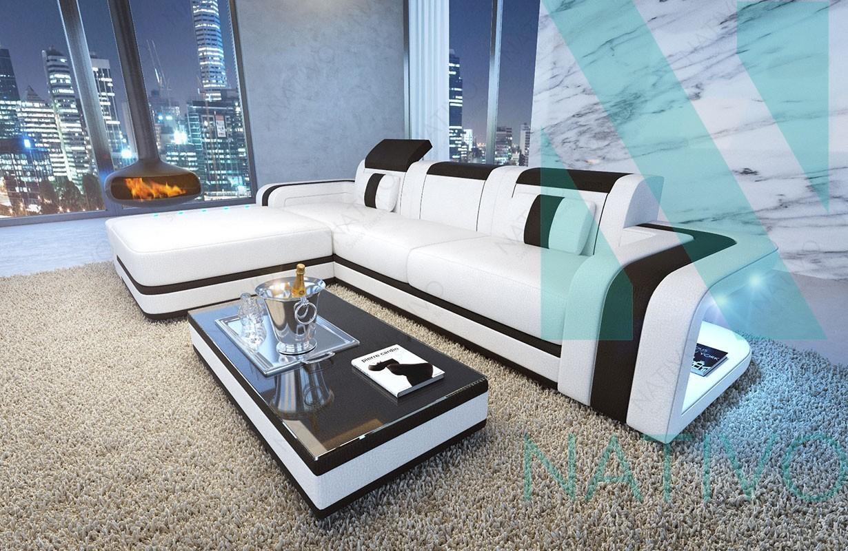 nativo m bel schweiz ledersofa space mini g nstig online kaufen. Black Bedroom Furniture Sets. Home Design Ideas