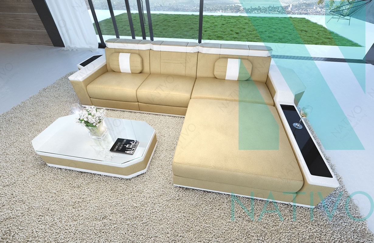 edles ledersofa cesaro mini bei nativo m bel schweiz online kaufen. Black Bedroom Furniture Sets. Home Design Ideas