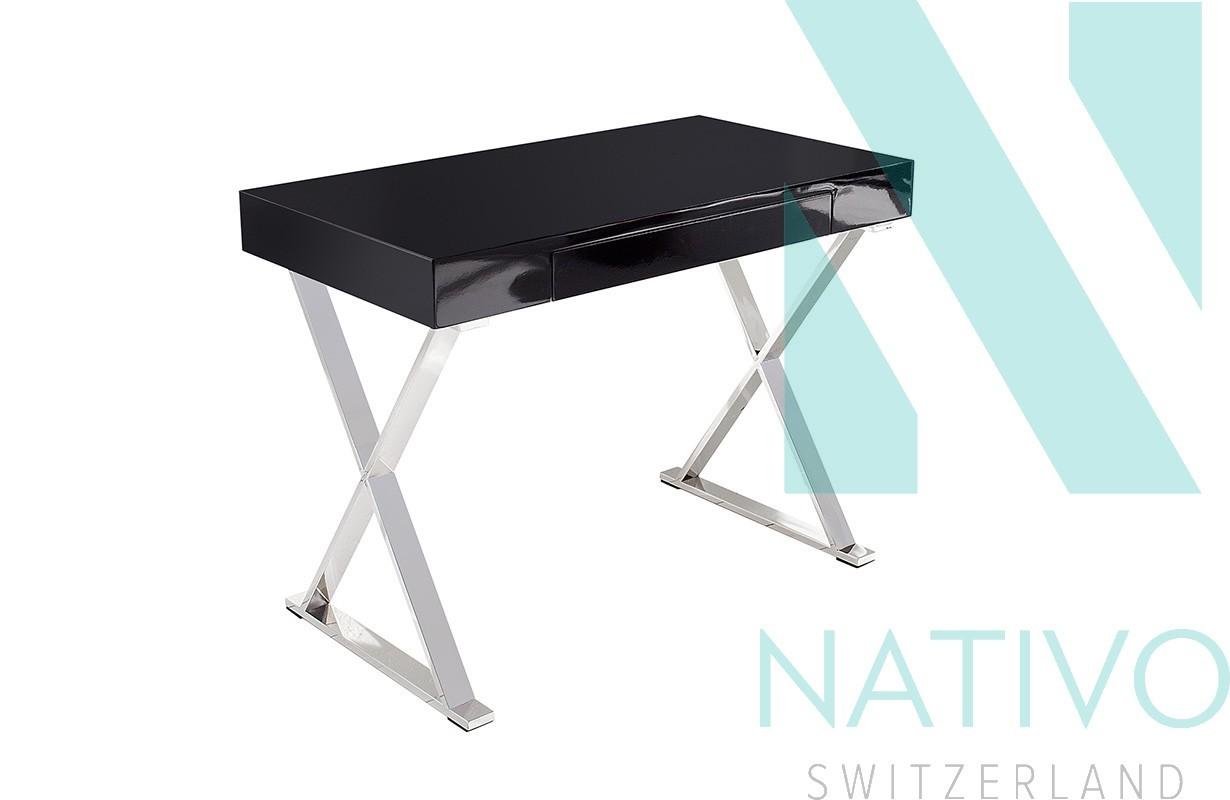 nativo schreibtisch kelly black g nstig online kaufen. Black Bedroom Furniture Sets. Home Design Ideas