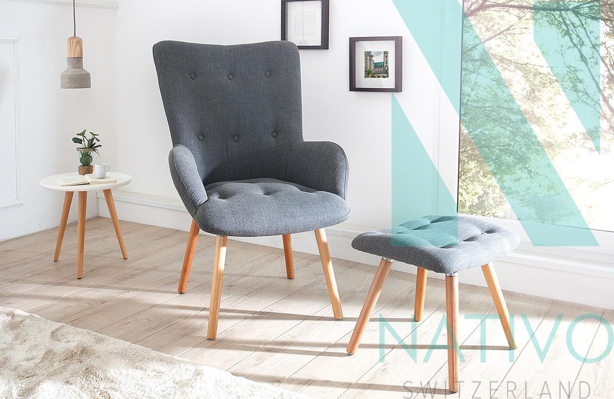 Lounge Sessel Man Grey Set Bei Nativo M Bel Schweiz