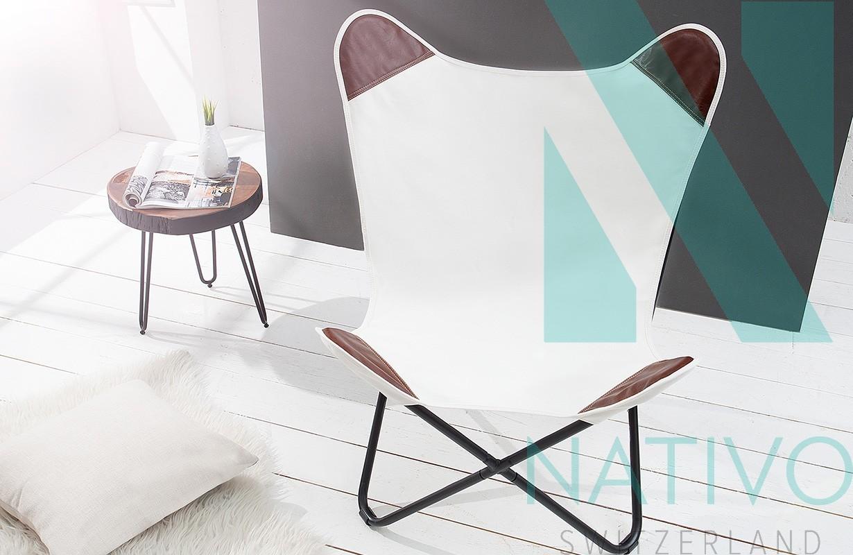 lounge sessel astra leinen white bei nativo m bel schweiz g nstig. Black Bedroom Furniture Sets. Home Design Ideas