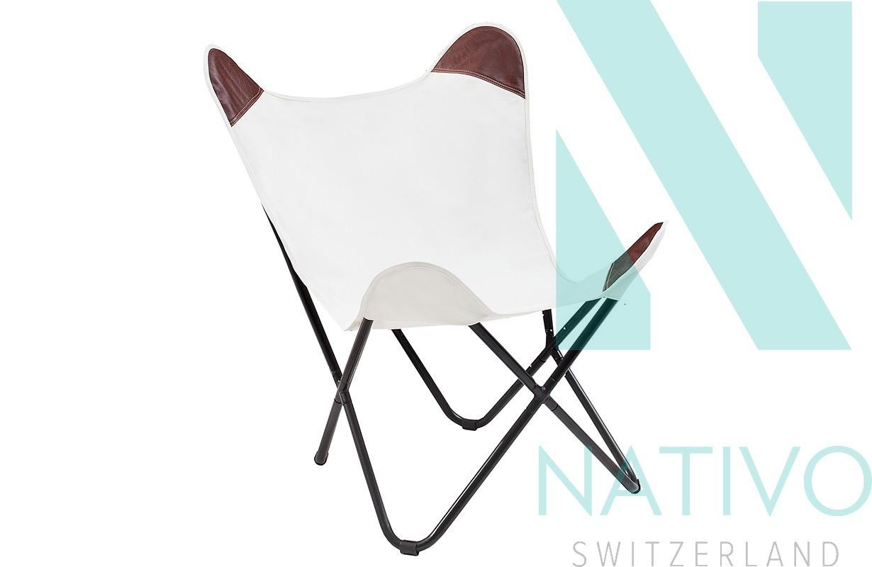 lounge sessel astra leinen white bei nativo m bel schweiz. Black Bedroom Furniture Sets. Home Design Ideas