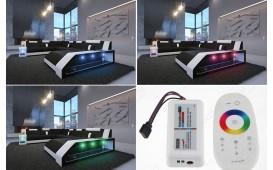 Canapé Design MATIS 3+2+1 avec éclairage LED