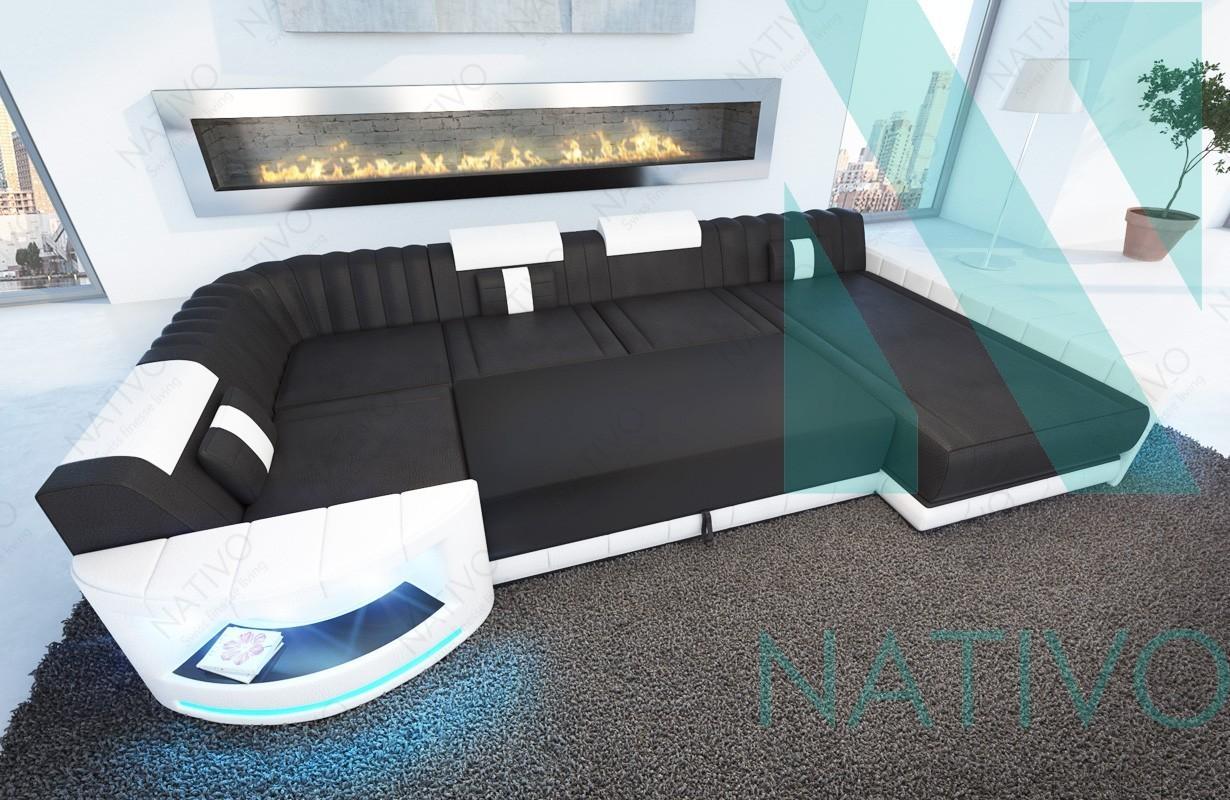 designer ledersofa atlantis xl bei nativo m bel schweiz online kaufen. Black Bedroom Furniture Sets. Home Design Ideas