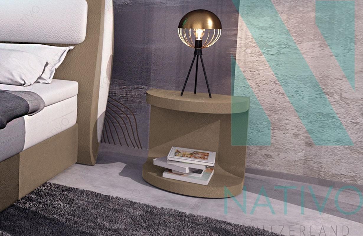 Comodino moderno wien nativo mobili di design - Comodini di design ...