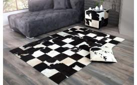 Designer Teppich WESTERN BLACK 195 cm