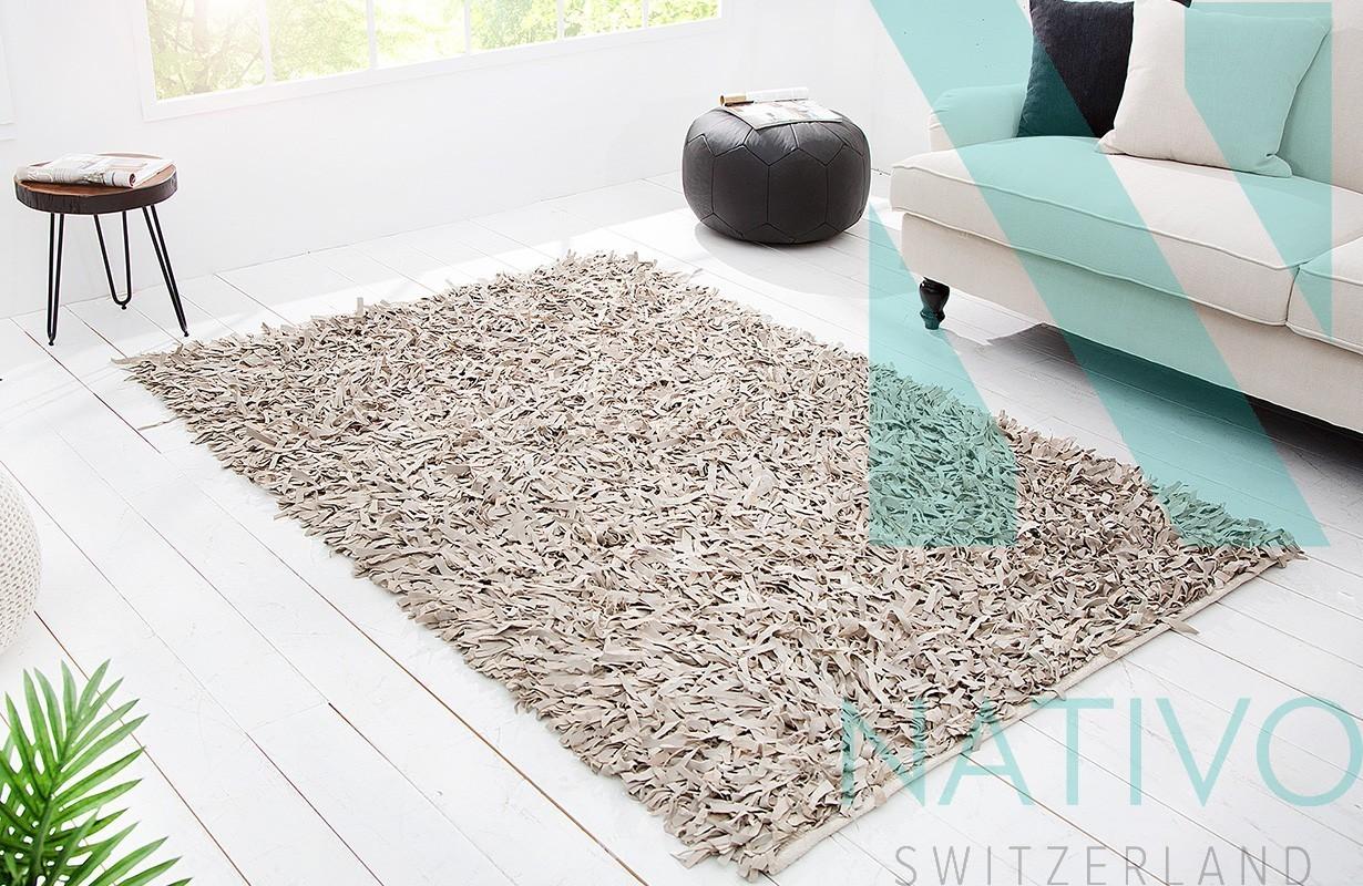 designer teppich rodeo beige 200 cm in der schweiz bei nativo m bel. Black Bedroom Furniture Sets. Home Design Ideas