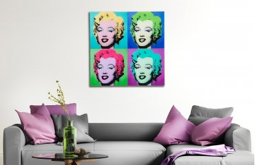 Designer Bild MONROE 60 cm