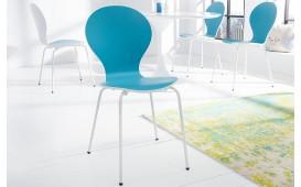 Designer Stuhl MODULO DUO BLUE WHITE