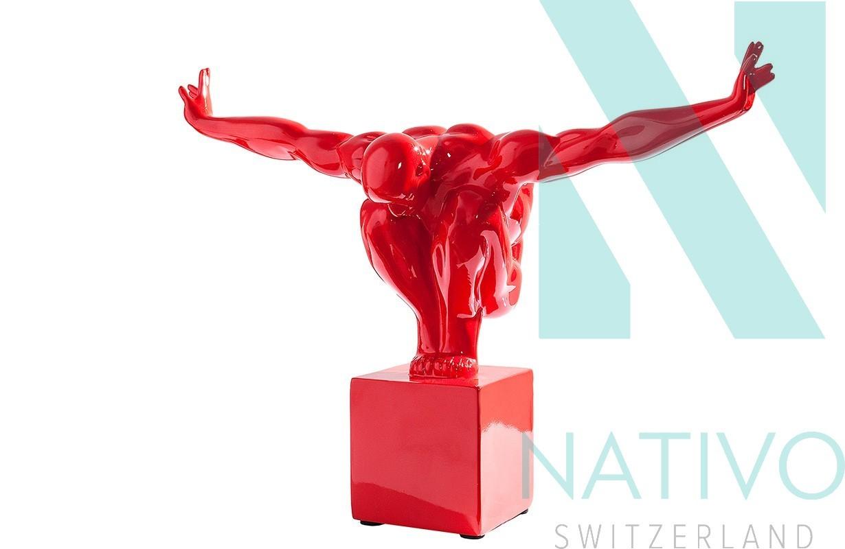Deko atletico red 45 cm von nativo m bel in der schweiz for Designer deko outlet