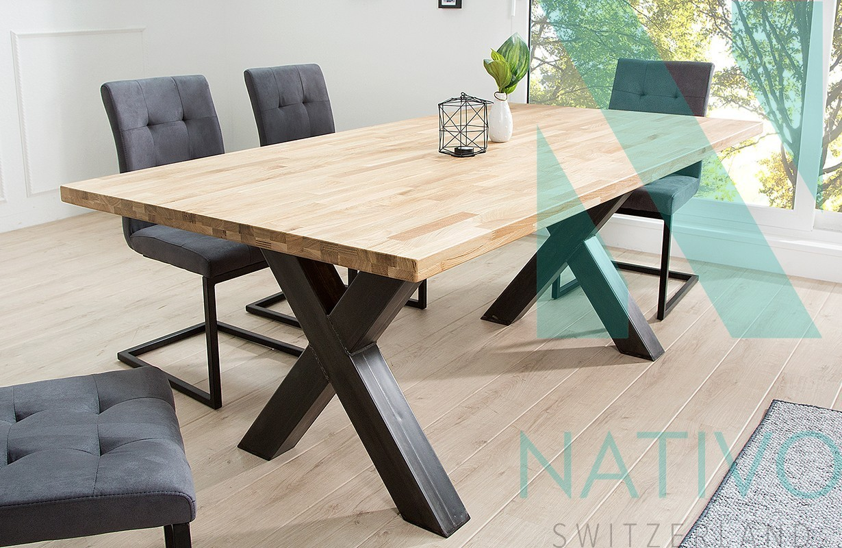 esstisch gotama x bei nativo m bel schweiz g nstig kaufen. Black Bedroom Furniture Sets. Home Design Ideas