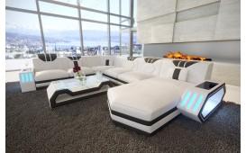 Divano di design CLERMONT XXL con illuminazione a LED