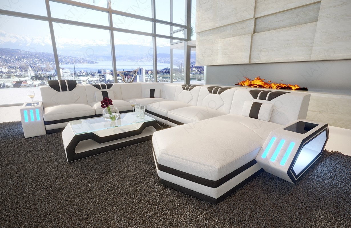 ledersofa clermont xxl online kaufen im nativo m bel online shop. Black Bedroom Furniture Sets. Home Design Ideas