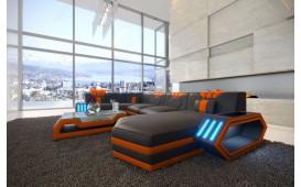 Divano di design CLERMONT XL con illuminazione a LED