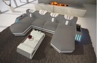 Designer Sofa CLERMONT XL U mit LED Beleuchtung von NATIVO Möbel Schweiz