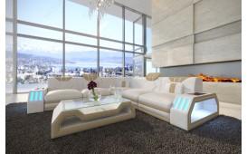 Divano di design CLERMONT CORNER con illuminazione a LED