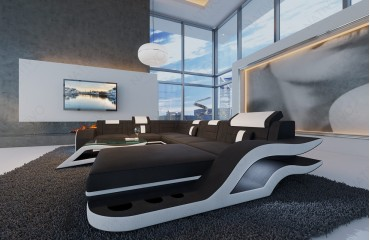 Designer Sofa HERMES XXL mit LED Beleuchtung von NATIVO Möbel Schweiz