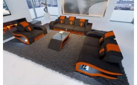Divano di design HERMES 3+2+1 con illuminazione a LED