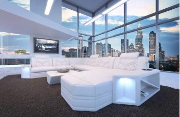Designer Sofa AVENTADOR XXL mit LED Beleuchtung von NATIVO Möbel Schweiz