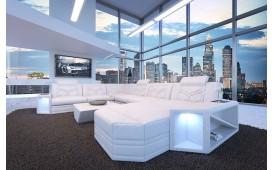 Canapé Design AVENTADOR XXL avec éclairage LED