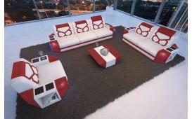 Designer Sofa AVENTADOR 3+2+1 mit LED Beleuchtung von NATIVO Möbel Schweiz