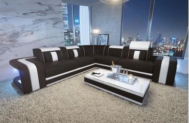 Designer Sofa SPACE CORNER mit LED Beleuchtung von NATIVO Möbel Schweiz
