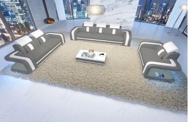 Designer Sofa SPACE 3+2+1 mit LED Beleuchtung von NATIVO Möbel Schweiz