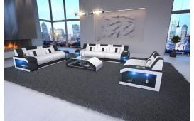 Designer Sofa MATIS 3+2+1 mit LED Beleuchtung
