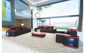 Designer Sofa CESARO 3+2+1 mit LED Beleuchtung von NATIVO Möbel Schweiz