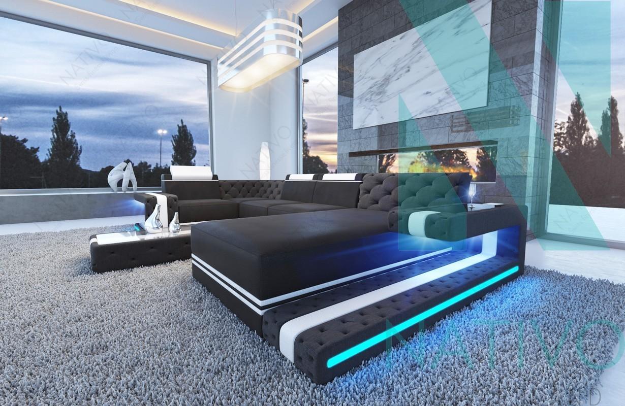 canap design imperial xl avec clairage led - Canape Design Led