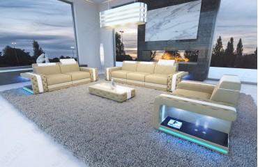 Designer Sofa IMPERIAL 3+2+1 mit LED Beleuchtung von NATIVO Möbel Schweiz