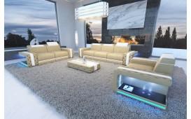 Canapé Design IMPERIAL 3+2+1 avec éclairage LED