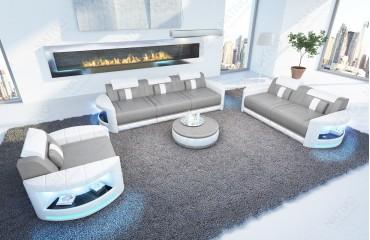 Designer Sofa ATLANTIS 3+2+1 mit LED Beleuchtung von NATIVO Möbel Schweiz