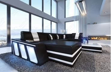 Designer Sofa CAREZZA XL mit LED Beleuchtung von NATIVO Möbel Schweiz