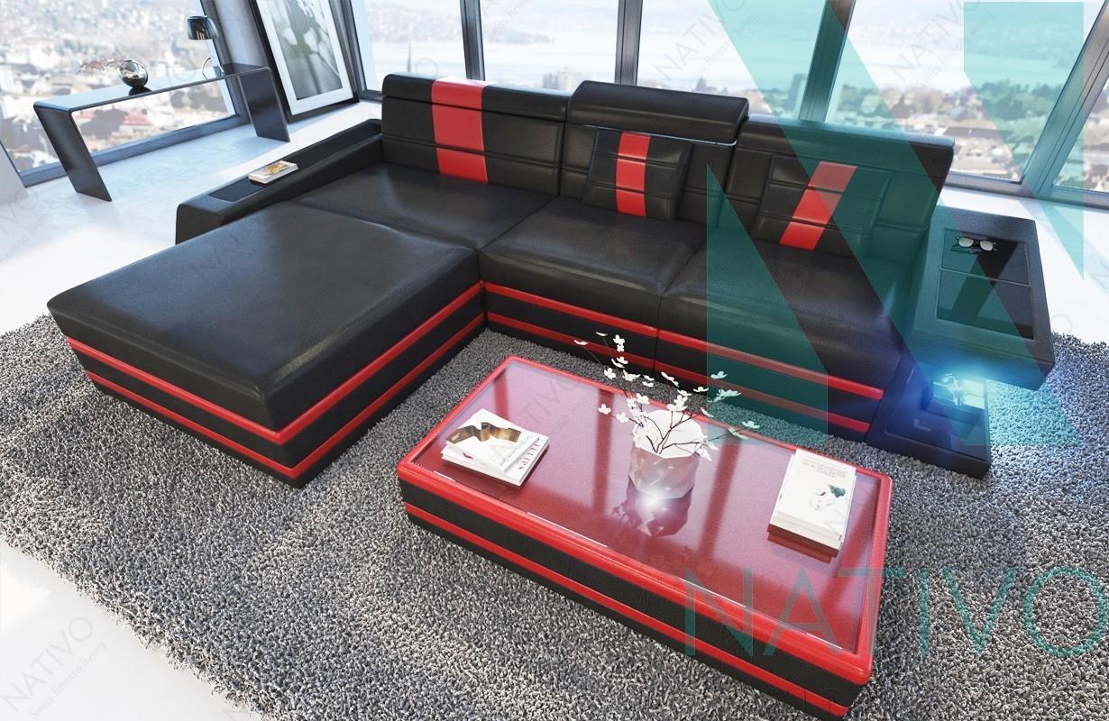 Edles Ledersofa CAREZZA MINI bei NATIVO Möbel Schweiz online kaufen
