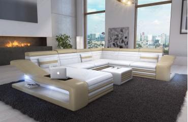Canapé MIRAGE XXL Ac éclairage LED NATIVO Mobilier Design - Design canapé