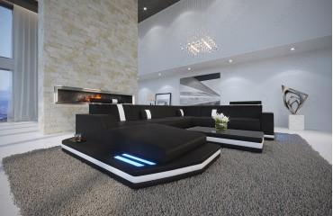 Soldes NATIVO mobilier design Canapé MESIA XXL LED