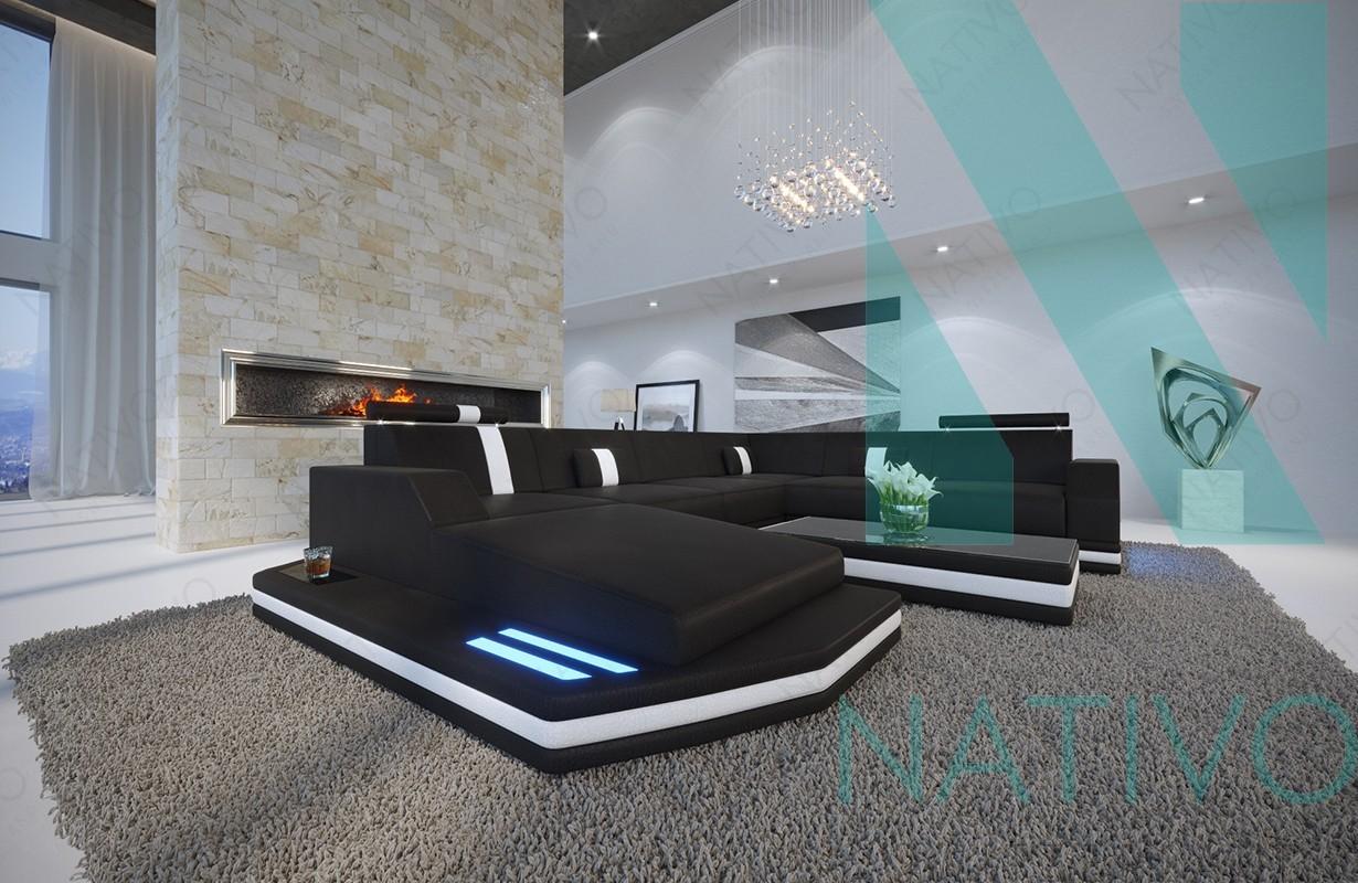 ledersofa mesia xxl bei nativo m bel schweiz g nstig kaufen. Black Bedroom Furniture Sets. Home Design Ideas