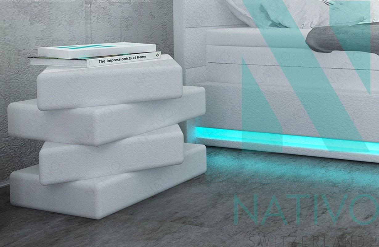 Comodino moderno PARIS NATIVO camera da letto mobili