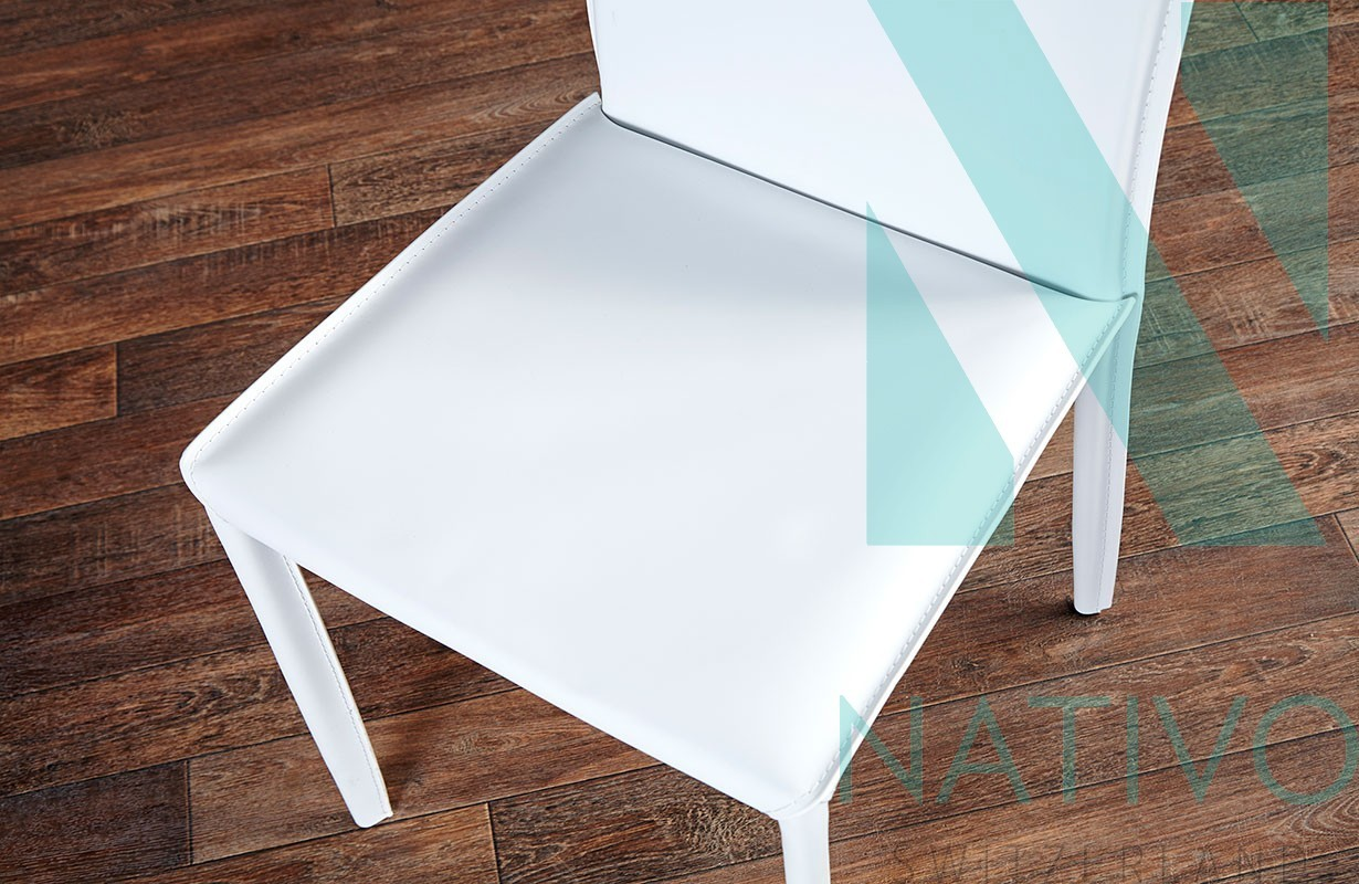 chaise design torino white nativo design suisse. Black Bedroom Furniture Sets. Home Design Ideas