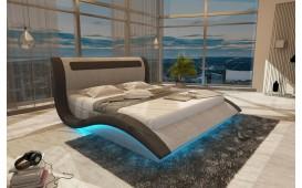Lit Design AMSTERDAM avec éclairage LED & port USB