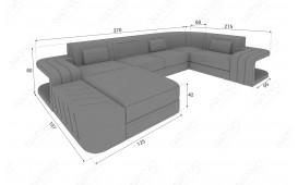 Designer Sofa SPACE XL mit LED Beleuchtung von NATIVO Möbel Schweiz