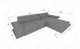 Designer Sofa IMPERIAL MINI mit LED Beleuchtung von NATIVO Möbel Schweiz