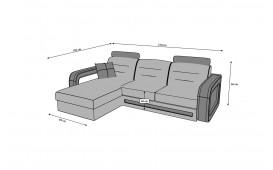 Canapé Design DAVOS MINI