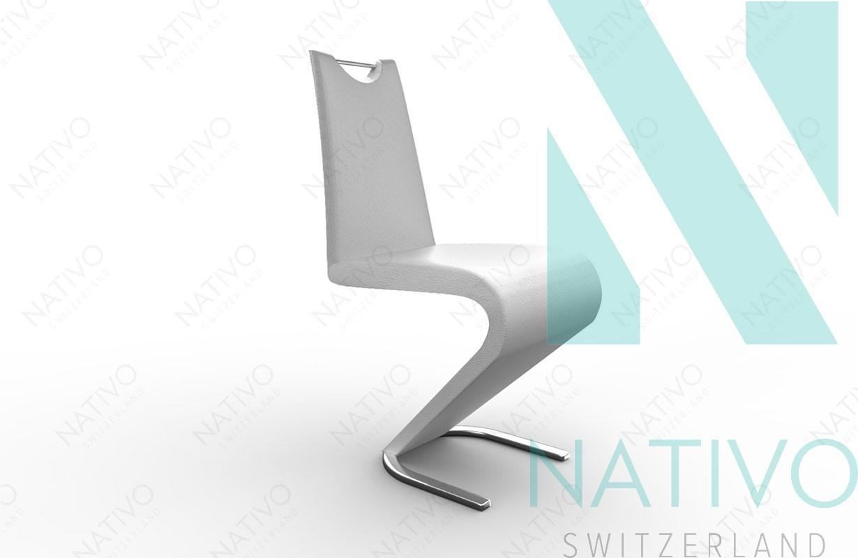 stuhl ardo weiss designer bei nativo m bel schweiz g nstig kaufen. Black Bedroom Furniture Sets. Home Design Ideas
