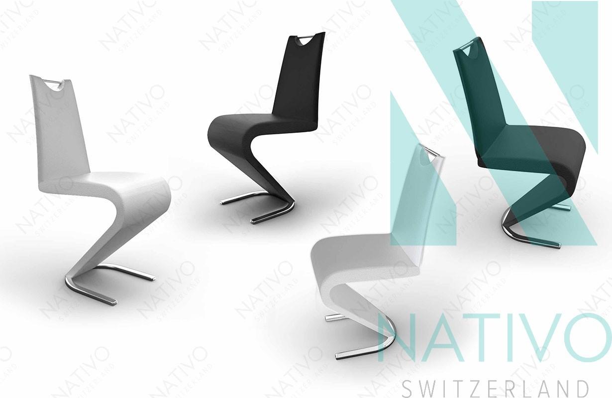 Sedia moderna ardo bianca nativo mobili sala da pranzo for Sedia design bianca