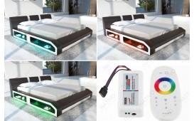 Letto di design FLOYD con illuminazione a LED